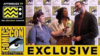 Kellita Smith & Keith Allan (Z Nation) @ San Diego Comic-Con 2015
