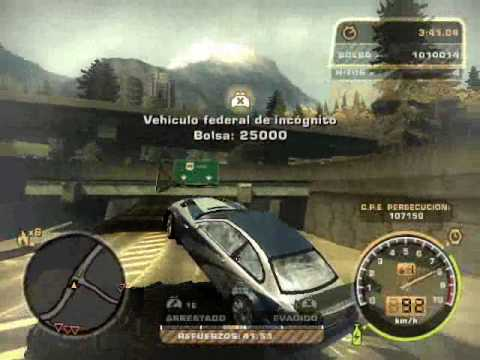 Need For Speed Most Wanted - Persecusión Final