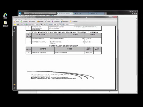 Video Tutorial Cargue de documentos Convocatoria No 319 de 2014   IDEAM