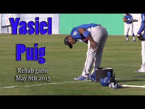 Yasiel Puig Rehab Game May 8th 2015
