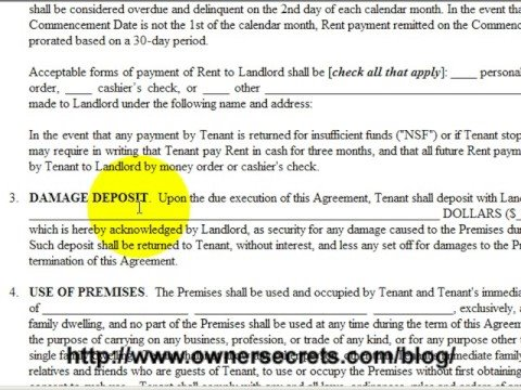 Rent Out Your House With A Proper Lease Agreement Youtube