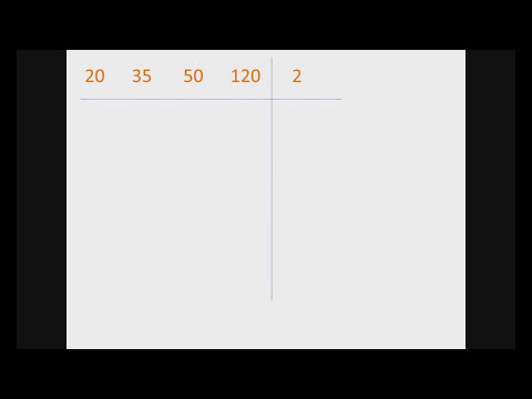 Tutorial de como hallar (MCM) minimo comun multiplo.wmv