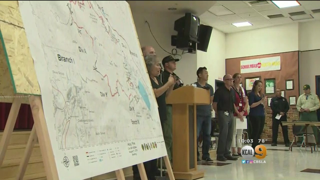 Community Meeting Held To Discuss Holy Fire