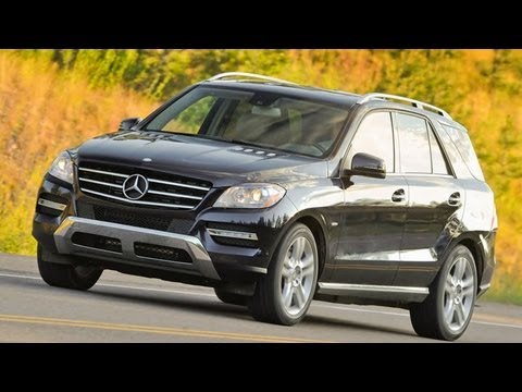 Mercedes-Benz ML Video Review -- Edmunds.com