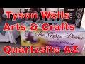 Tyson Wells Arts & Craft Show 2017 ...Quartzsite AZ