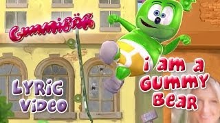 The Gummy Bear Song With Lyrics - Gummibär The Gummy Bear
