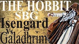 The Hobbit: Strategy Battle Game BATTLE REPORT Galadhrim Vrs Isengard