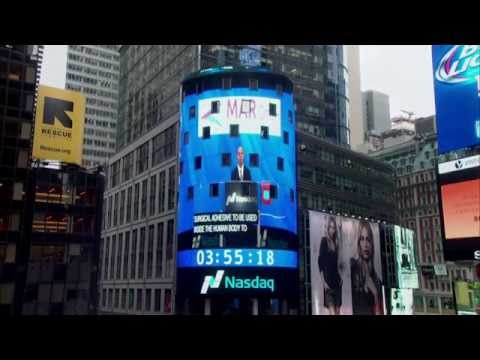 The Tower at Times Square - NASDAQ Closing Bell, October 15, 2014