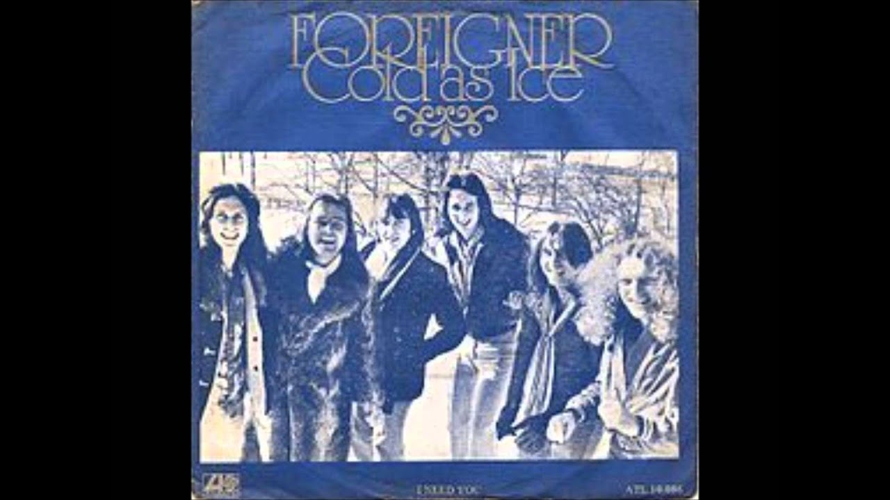 Song Ice Cold Cold as Ice Foreigner Lyrics