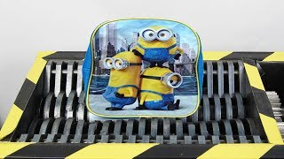 Experiment Shredding Minions School Bag  | The Crusher