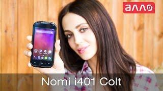 Видео-обзор смартфона Nomi i401 Colt