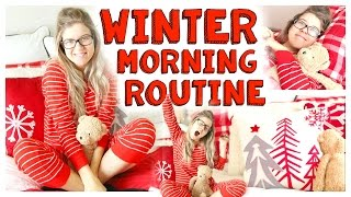 My Morning Routine: Winter Holiday Edition