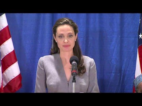 UNHCR Special Envoy Jolie Pitt Marks World Refugee Day at Interfaith Iftar