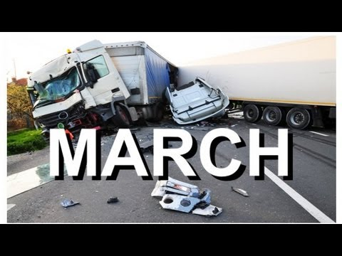 Car Crash Compilation MARCH Review - NEW by CCC :)