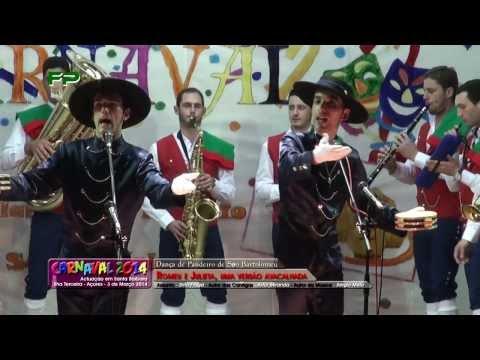 Carnaval 2014 -  Dan�a de Pandeiro de S�o Bartolomeu - Romeu e Julieta - Uma vers�o Avacalhada