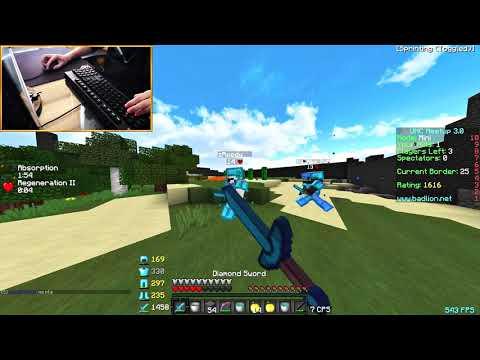 INSANE 13+ BOW LOCK COMBO! (Minecraft PvP)