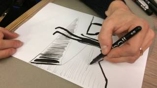 """Comment j'ai dessiné """"Mort et vif"""", la leçon de dessin de David Prudhomme"""