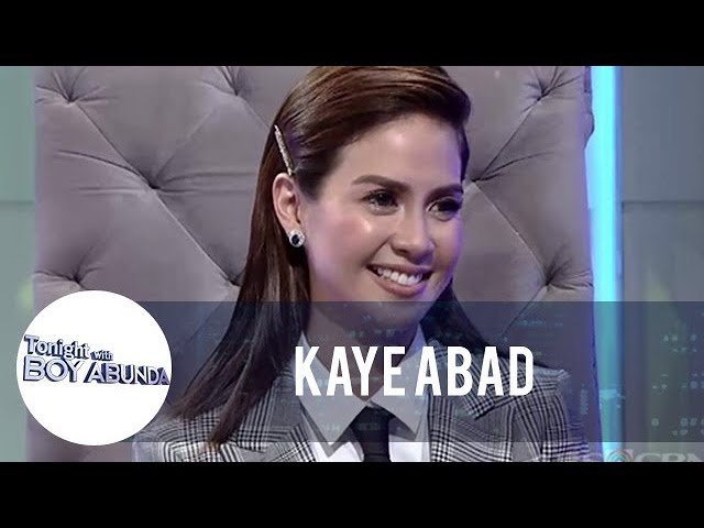 Kaye Abad reveals that she does not find herself sexy | TWBA