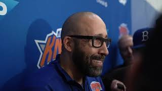 Knicks Training Camp 2019: Coach Fizdale Speaks on Day 1