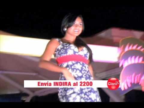 Atras del Escenario Miss Nicaragua 2010 - Indira Rojas