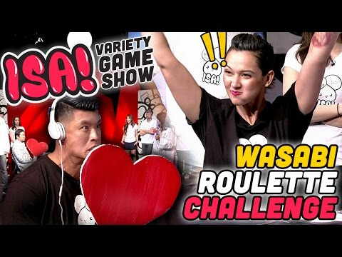 WASABI ROULETTE CHALLENGE! - ISA! Variety Game Show Season 2 Pt. 3