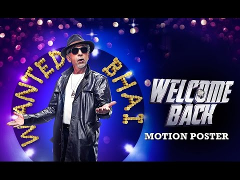 Meet Wanted Bhai Aka Naseeruddin Shah | Welcome Back