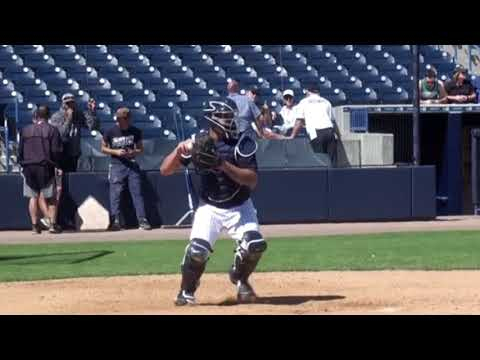 Gary Sanchez Throwing Mechanics