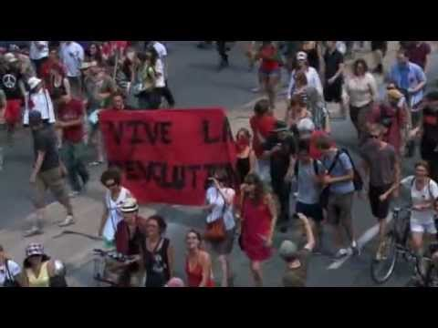 22 july:Montreal Students protest against Premier Jean Charest