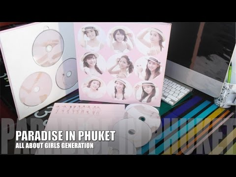 Snsd - All About Girls Generation Paradise In Phuket | Unboxing video
