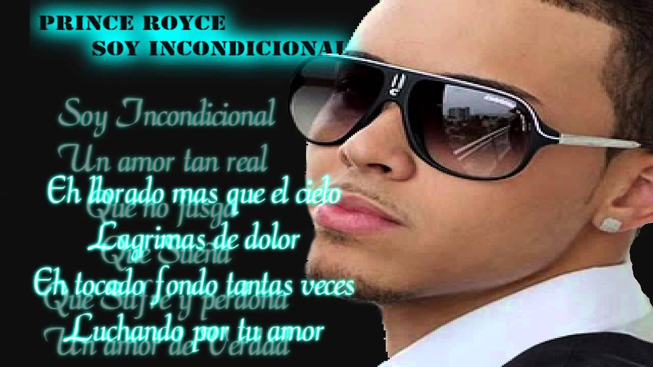 Prince Royce - Incondicional con letra 2012 - YouTube
