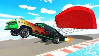 NEW $2,950,000 PARACHUTE BRAKING CAR! (GTA 5 DLC)