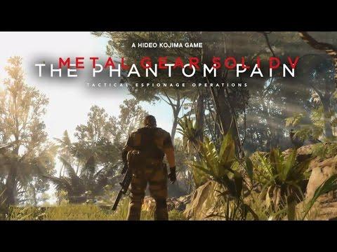 Metal Gear Solid 5: The Phantom Pain - Fox Engine Demo @ TGS 2014 TRUE-HD QUALITY