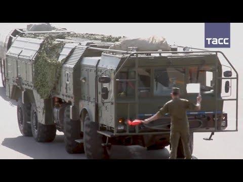 """Российские """"Искандеры"""" впервые перебросили на учения в Таджикистан"""