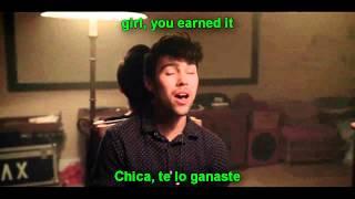 Earned It - Kina Grannis  MAX  KHS Cover lyrics + sub español