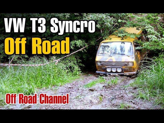 Volkswagen T3 Syncro 4WD Off Road