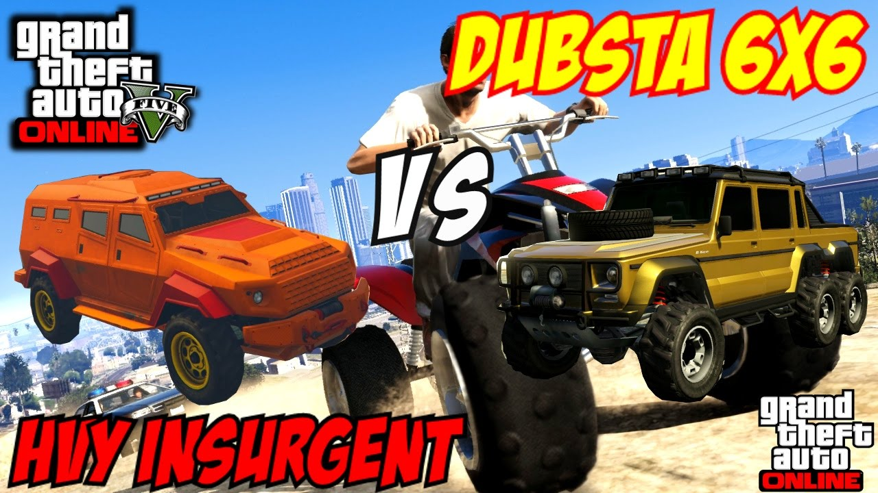 Gta Dubsta vs Insurgent Insurgent Armed vs Dubsta