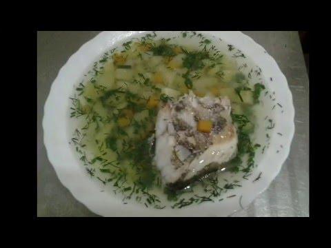 Рыбный суп из ТРЕСКИ .Как приготовить. Рецепт.