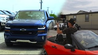 WHEN IN TEXAS FILM LIFTED TRUCKS! (Dallas BTS Vlog #1)