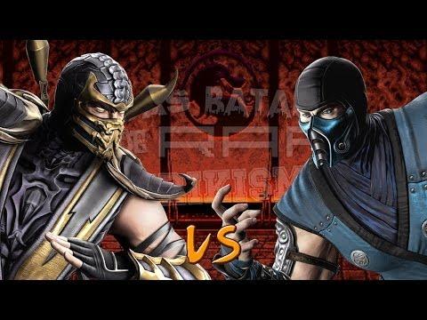 Scorpion vs Sub-Zero. Épicas Batallas de Rap del Frikismo |