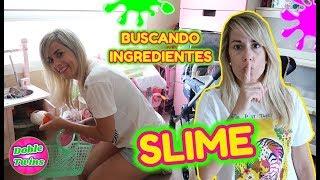 BUSCANDO INGREDIENTES PARA HACER SLIME!! FIND YOUR SLIME INGREDIENTS CHALLENGE!! Doble Twins