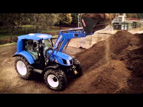 New Holland Methane Power Tractor