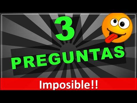 ¡¡Imposible!! 3 adivinanzas tus amigos nunca adivinarán! (adivinanzas cortas con respuestas)