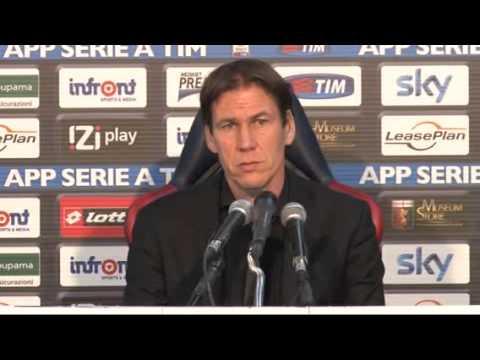 La conferenza stampa di Rudi Garcia dopo Genoa-Roma 0-1
