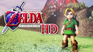 Zelda: Ocarina of Time in HD! (Unreal Engine 4)