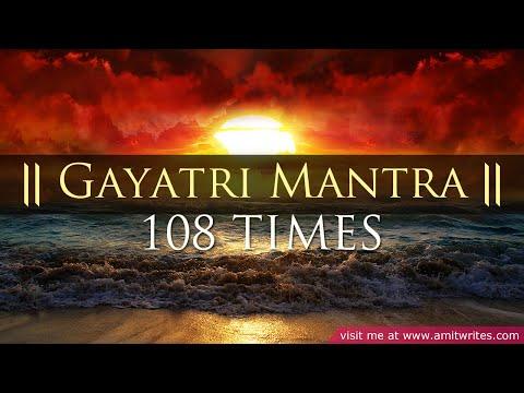 Gayatri Mantra 108 Times (Classic & Authentic)