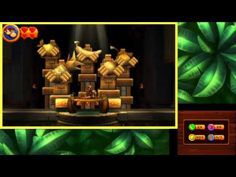 Donkey Kong Country Returns 3D - 100% Walkthrough Part 11 - World 8 Volcano - Final Boss & Credits