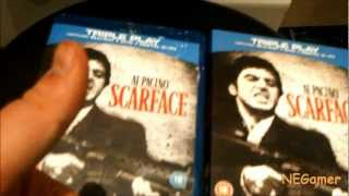 *Unboxing* Scarface Bluray TRIPLE PLAY (HD)