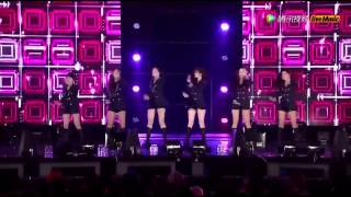 【HD】150206 T-ARA[티아라] Sugar Free+Number 9+Sexy Love+Roly Poly @ Oak Valley Snow Park Winter Festival