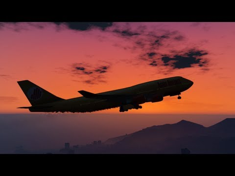 How To Steal A Jumbo Jet In GTA V