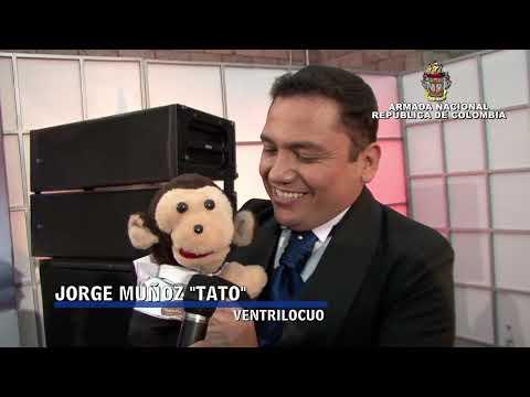 El ventrílocuo colombiano Jorge